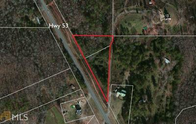Dawsonville Residential Lots & Land For Sale: 6300 Highway 53