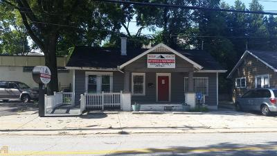 Old Fourth Ward Single Family Home For Sale: 577 Ralph McGill Blvd