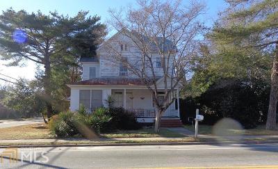 Statesboro Single Family Home For Sale: 229 S College St