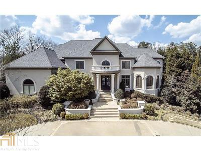 Alpharetta, Milton, Roswell Single Family Home For Sale: 8885 Old Southwick Pass