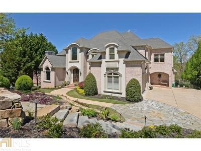 Alpharetta, Duluth, Johns Creek, Suwanee Single Family Home For Sale: 8215 Royal Troon