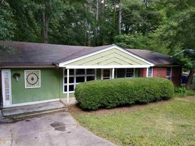 Fulton County Single Family Home For Sale: 344 W Wieuca Rd