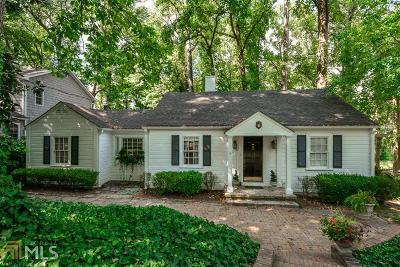 Collier Hills Single Family Home For Sale: 505 Overbrook Dr