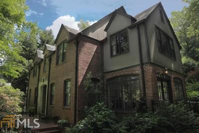 Dekalb County Single Family Home For Sale: 929 Clifton Rd