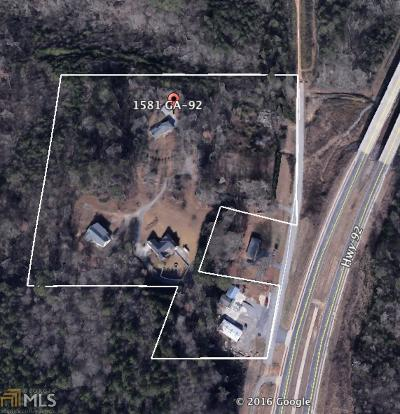Acworth Single Family Home For Sale: 1581 Highway 92
