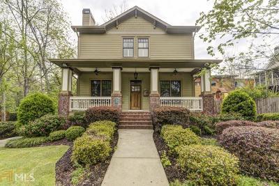 Atlanta Single Family Home Back On Market: 343 Sterling St