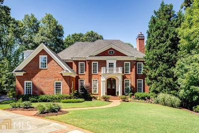 Marietta, Roswell Single Family Home For Sale: 468 Gramercy Dr