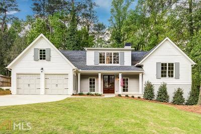 Buckhead Single Family Home For Sale: 742 Montana Rd