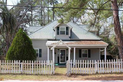 Statesboro Single Family Home Under Contract: 301 N College St