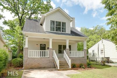 Fulton County Single Family Home For Sale: 1510 Mercer