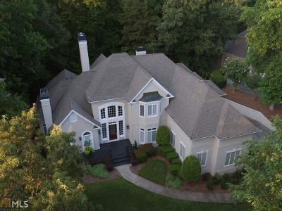 Roswell Single Family Home For Sale: 8675 Sentinae Chase