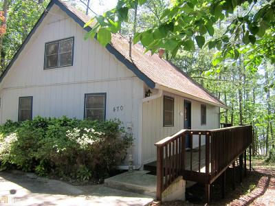 Elbert County, Franklin County, Hart County Single Family Home For Sale: 470 Skyline Way