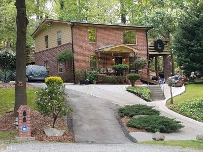 Fulton County Single Family Home For Sale: 1570 Spring Ln