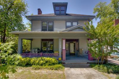 Inman Park Single Family Home Under Contract: 1109 Colquitt Ave