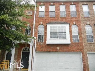 Fulton County Condo/Townhouse For Sale: 574 Fraser St