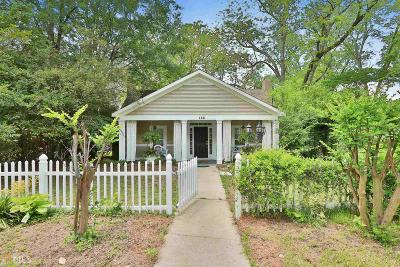 Senoia Single Family Home For Sale: 168 Bridge St