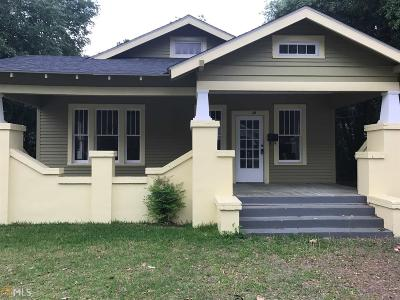Statesboro Single Family Home For Sale: 18 W Jones