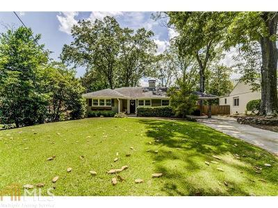 Buckhead Single Family Home For Sale: 3549 Kingsboro Rd