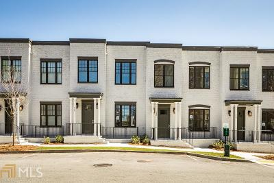 Cosmopolitan At Lindbergh Condo/Townhouse Under Contract: 724 Taylor Ct #8
