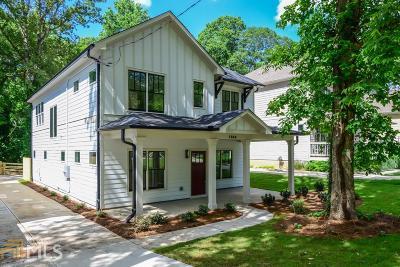 Dekalb County Single Family Home For Sale: 1866 Braeburn Cir