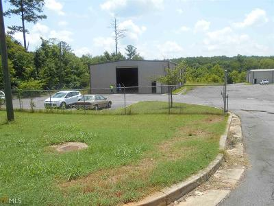 Canton, Woodstock, Cartersville, Alpharetta Commercial For Sale: 375 Industrial Park Rd