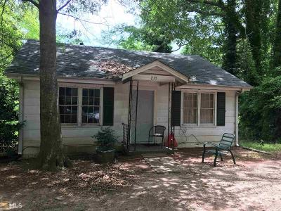 Monroe Single Family Home Under Contract: 215 Mobley Cir