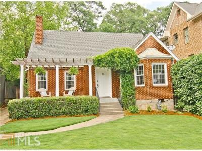 Peachtree Hills Single Family Home For Sale: 240 Springdale Dr