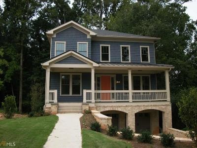 Atlanta Single Family Home Back On Market: 1390 Rock Springs Cir #LOT 3