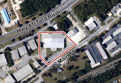 Jonesboro Commercial For Sale: 9479 S Main St