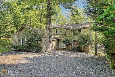 Rabun County Single Family Home For Sale: 102 Landing Ln