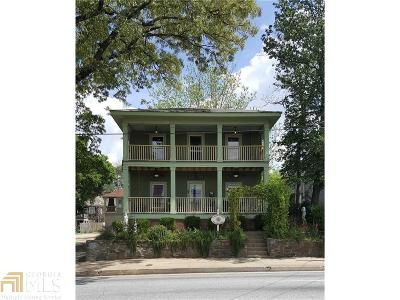 Old Fourth Ward Single Family Home For Sale: 71 Boulevard