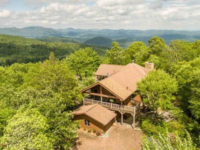 Rabun County Single Family Home For Sale: 196 Scenic Dr