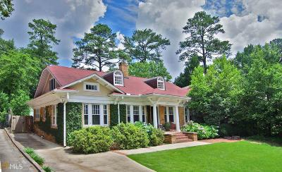 Dekalb County Single Family Home For Sale: 1298 Oxford Rd
