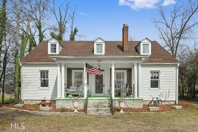 Rockdale County Single Family Home For Sale: 1085 N Main St