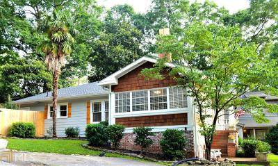 Peachtree Hills Single Family Home For Sale: 109 Terrace Dr