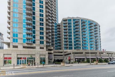 Fulton County Condo/Townhouse For Sale: 400 W Peachtree St #1307