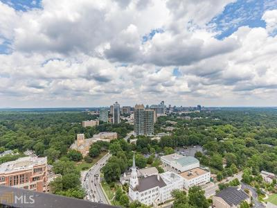 Park Place On Peachtree Condo/Townhouse For Sale: 2660 Peachtree Rd #39F