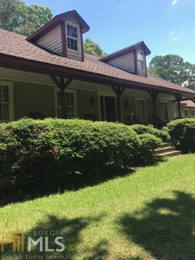 Loganville Single Family Home For Sale: 3254 Rosebud Rd
