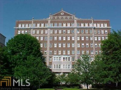 Reid House Condo/Townhouse For Sale: 1327 Peachtree St #103