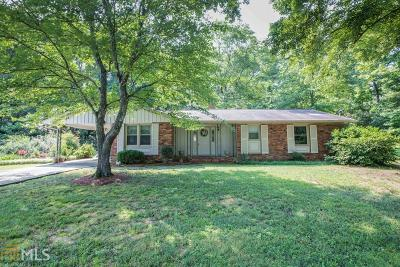 Fulton County Single Family Home For Sale: 255 Brook Dr