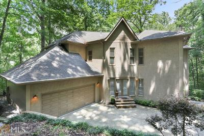 Fulton County Single Family Home For Sale: 135 Skyland Dr