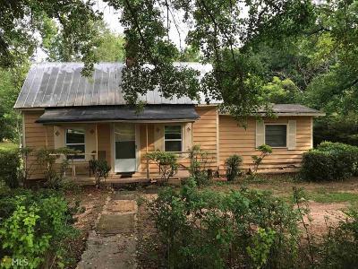 Williamson Single Family Home For Sale: 205 County Farm Rd