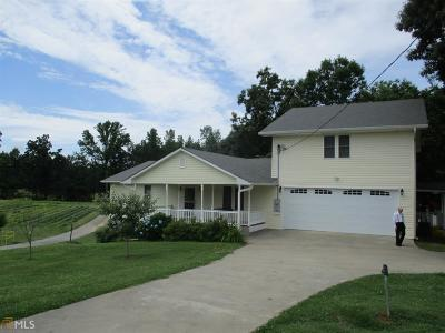 Elbert County, Franklin County, Hart County Single Family Home For Sale: 2021 Burke Rd