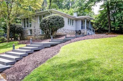 Decatur Single Family Home For Sale: 2195 W Ponce De Leon Ave