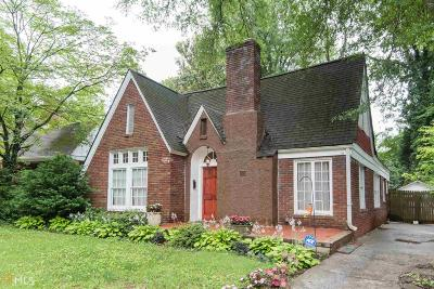 Fulton County Single Family Home For Sale: 1806 Walker Ave