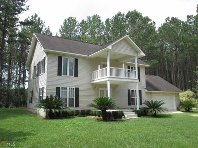 Statesboro Single Family Home For Sale: 5011 Cypress Lake