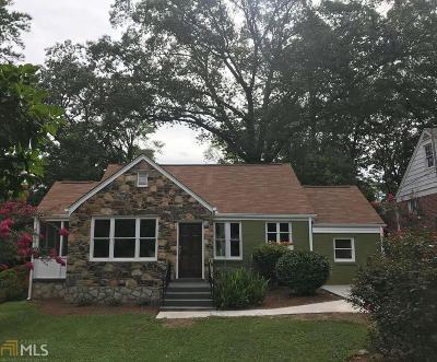 Decatur Single Family Home For Sale: 1010 S McDonough