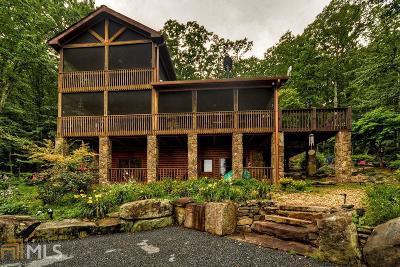 Fannin County, Gilmer County Single Family Home For Sale: 1222 Sunrock Mountain Roa