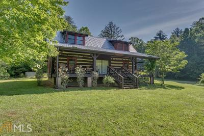 Fannin County, Gilmer County Single Family Home For Sale: 5848 Rock Creek Rd