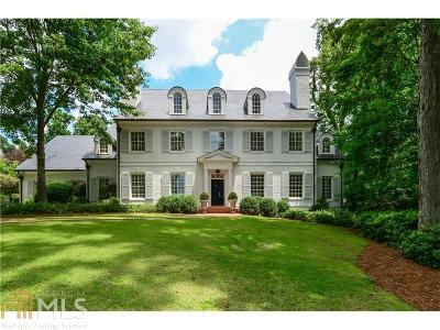 Buckhead Single Family Home For Sale: 875 W Paces Ferry Rd